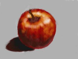 Red Apple by Nethilia