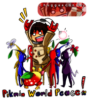 Chuggaaconroy: Pikmin World Peace! by GeekyKitten64
