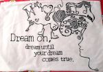 Dream On - Pillowcover by Jinxye