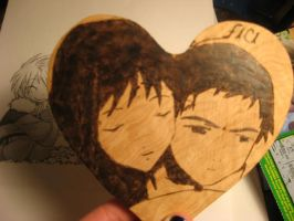 FLCL woodburning present by artemis5096