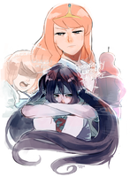 bubbline. responsibility demands sacrifice by Kunaike
