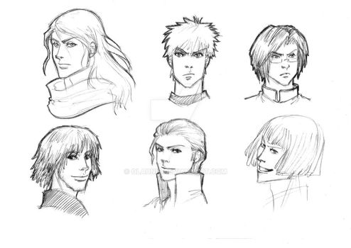 Bleach characters 2.0 by Olaunis