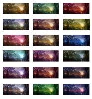 Colour Variations for an Alien Landscape by Chenthooran