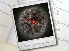 Alien Cell at 5000x by psion005