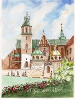 The Wawel Cathedral by Alina-Kurbiel