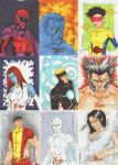X Men Archives Sketch Cards 2 by wheels9696