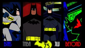 DC AM:75 Years Batman by bat123spider