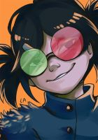 Noodle Gorillaz by raclemore