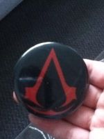 Assassin's Creed Button by snowsuper123