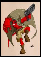 Hellboy Color by StephenEusebio