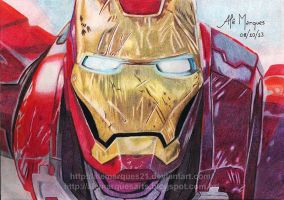 IRON MAN by alemarques21