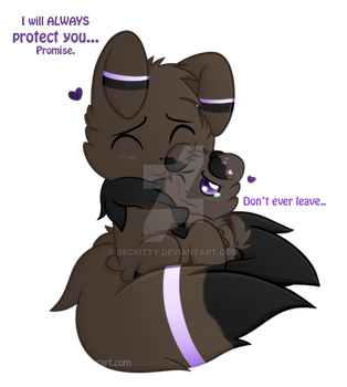 FNaF'mon: Purstic and Jayspurr~ by Beckitty