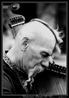 Ukrainian Bard - B-W by Dwor-kin