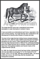 Breed Card Anglo Norman by Danesippi
