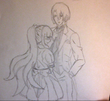 Masato and Aika-A butler and His Maid by ChiixKazu