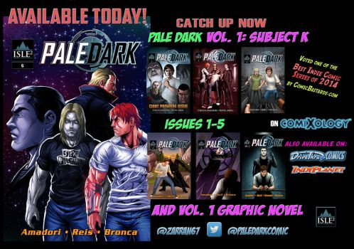 PD 6 Avail Today by IsleSquaredComics