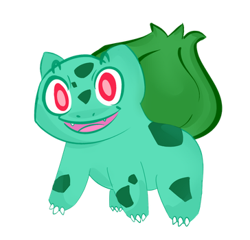 Its a Bulbasaur! by 4CatsinaBoat