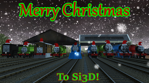 An Si3D Christmas by Sergeant-Sunflower