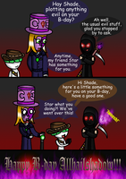 Allhailshadow's B-day 1 by Trifong