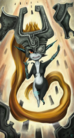 -Twilight Princess - Midna by AlineMendes