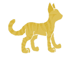 Lionblaze Lineless by Moonfire8D