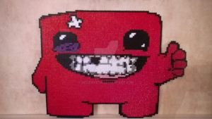 Super Meat Boy by Jelizaveta