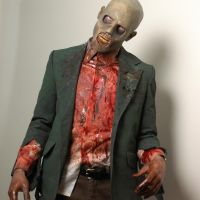 Zombie Prosthetic by VictorianSpectre
