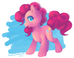 Pinkie Pie by RevaDiehard