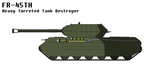 FR-45TH (official design) Tier IX Turreted TD by MultyInterest