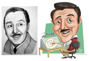 Caricature Disney by Dustin-C