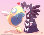 PokeLove Challenge: Day 5 - Lovely Kiss by QuantumJinx