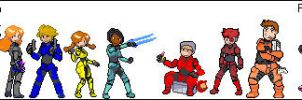 Blood Gulch Sprites by NetSenshi