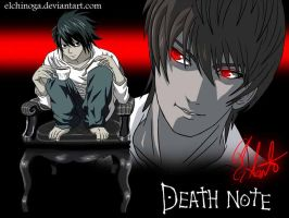 Death Note by elchinoga