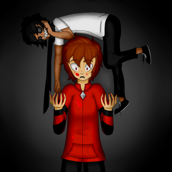 Black and Destro - Birthday Picture by FoxTail95
