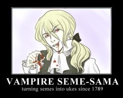 Vampire Seme-sama by analmouse