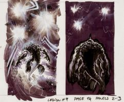 TELLUS panel 03 from Legion 9 by Cinar