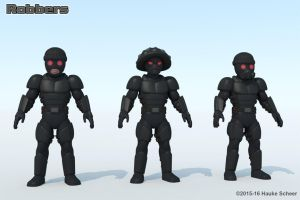 Robber variations by hauke3000