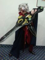 And then I cosplayed Baldur (EO4) by Knupfel