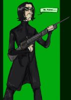 The Matrix Has You, Severus by RustyGrass33