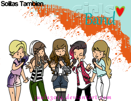 GirlsBand.- Pack de Doll's. by Juula3014
