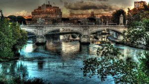 Roma: Castel Sant'Angelo HDR by Xelferz