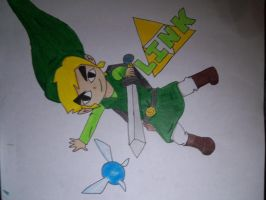 Toon Link by DragonGirl384