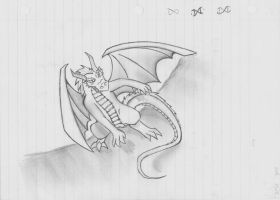 Dragon dodge by THEKIDWITHAKNIFE