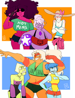 Summer Clothes by mellow-monsters