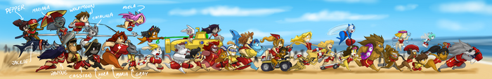 SHRED'S 44 LIFEGUARDS RUN 33 by ShoNuff44