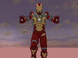 MMD NC - Iron-Man M.17, Heart-Breaker by Zeltrax987