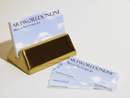Artworld Online Business card by krypt0