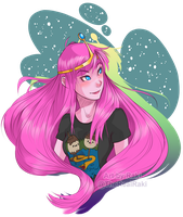 My Favorite pajamas (Princess Bubblegum) by TheRealRaki