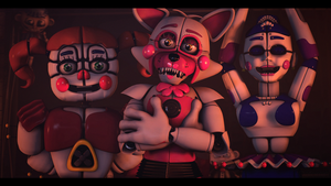[SFM FNAF]- Welcome to the show by Dafomin
