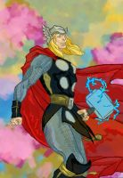 Thor is Pleased! by SmudgeThistle